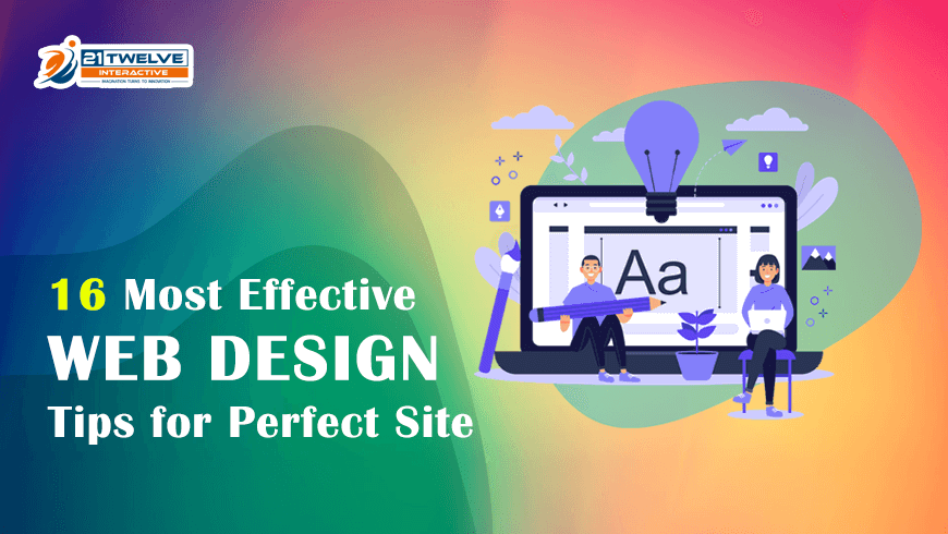 16 Most Effective Web Design Tips in 2021