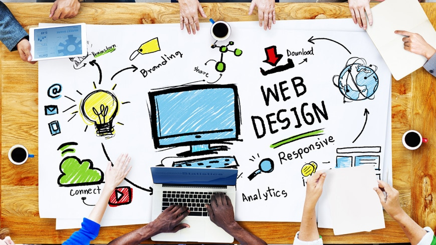 Top 10 content strategy in Web Design