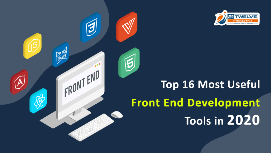 Top 16 Most Useful Front-end Development Tools in 2020