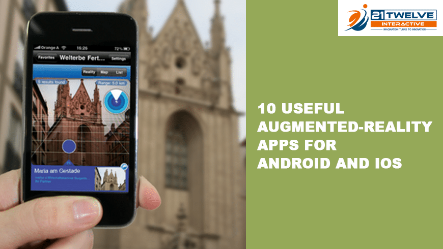 augmented reality apps for android phones