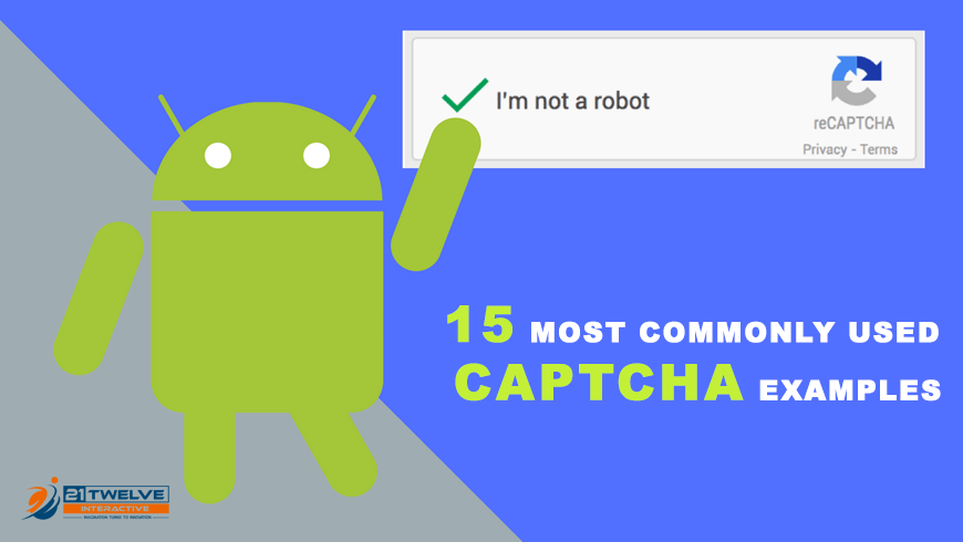 15 Most Commonly used captcha examples