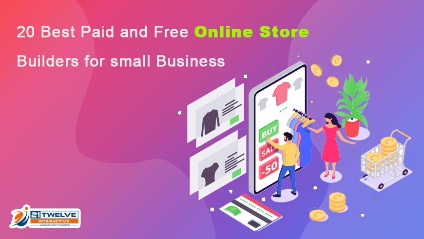 20 Best Paid and Free Online Store Builders for small Business