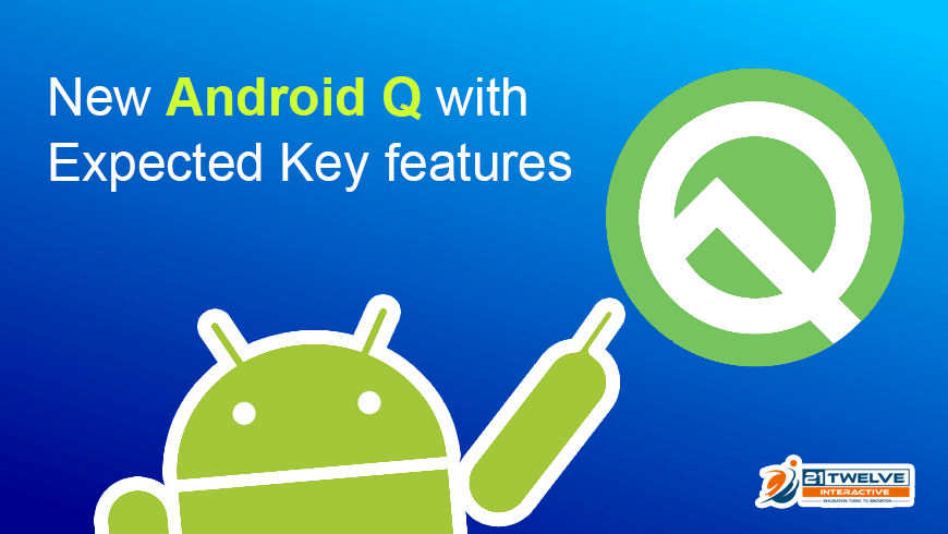 New Android Q with Expected Key Features