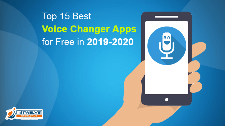 Top 15 Best Voice Changer Apps for Free in 2019-2020