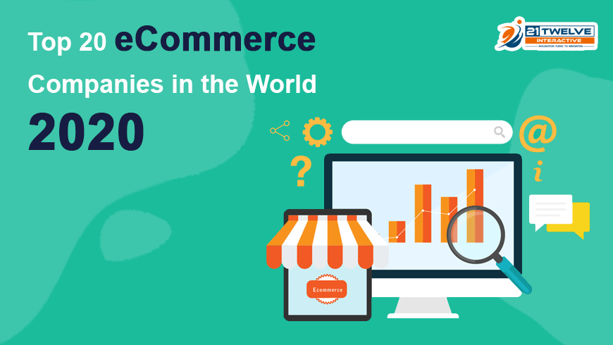 Top 20 eCommerce Companies in the World 2020