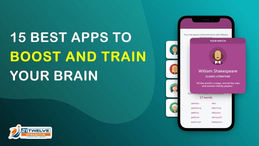 15 Best Apps to Boost and Train Your Brain