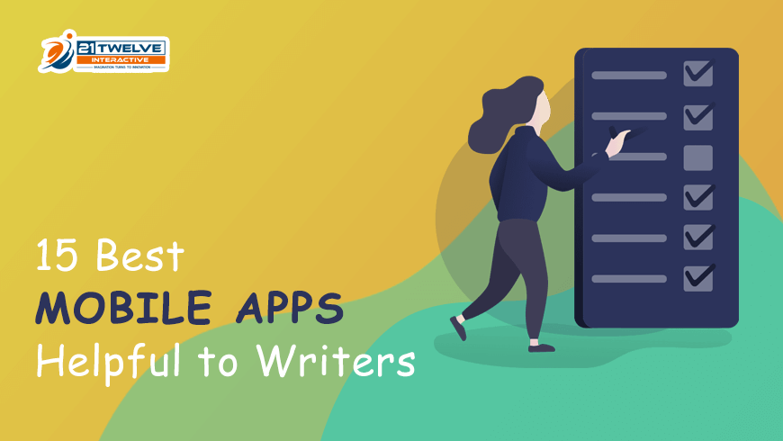 15 Best Mobile Apps Helpful for Writers