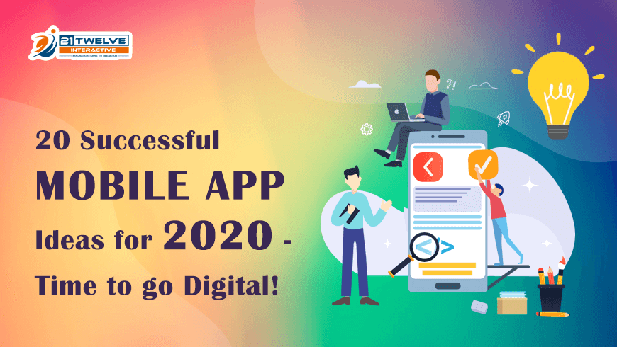 20 Successful Mobile App Ideas to Develop in 2020