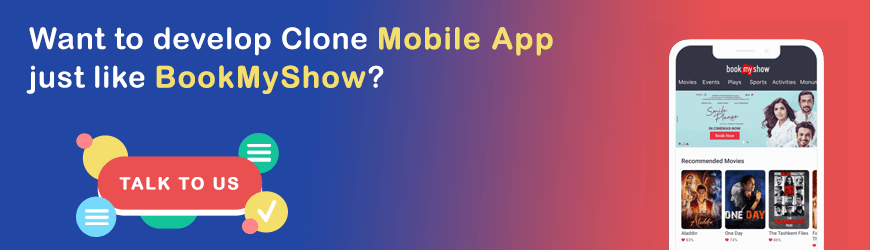 Want to build app like BookMyShow?