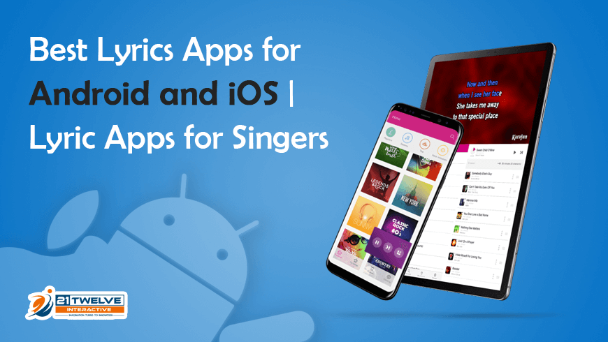 Best Lyrics Apps for Android and iOS | Lyric Apps for Singers