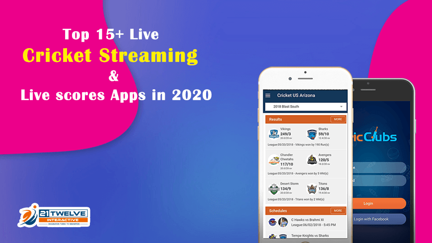 15 Best Live Cricket Streaming & Live Score Apps