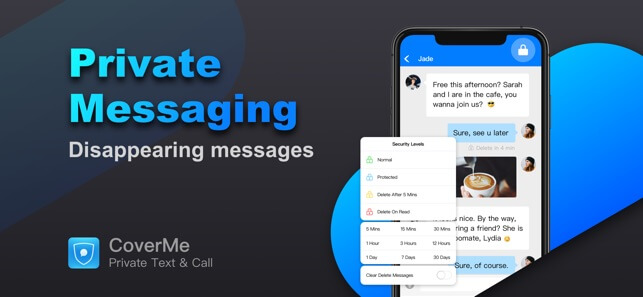 CoverMe Private Text Messaging