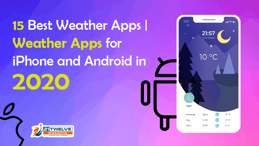 15 Best Weather Apps | Weather Apps for iPhone and Android in 2020