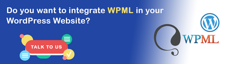 Do you want to integrate WPML into WordPress?