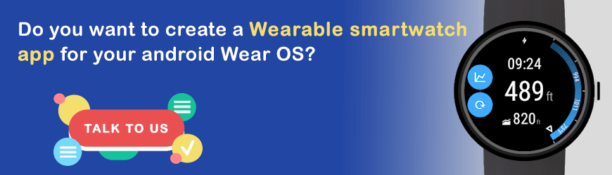 Do you want to develop wearable Apps?