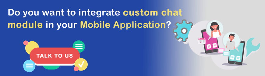 Do you want to integrate Custom chat module?