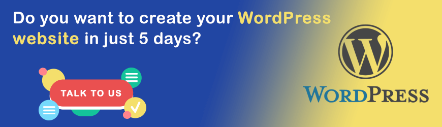 Do you want to create a WordPress website in 5 Days?