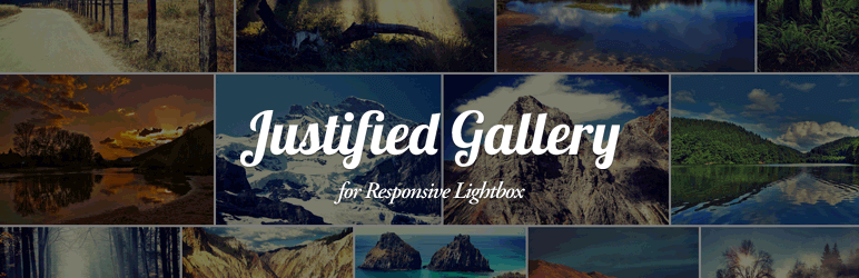 Justified Gallery WordPress Plugin