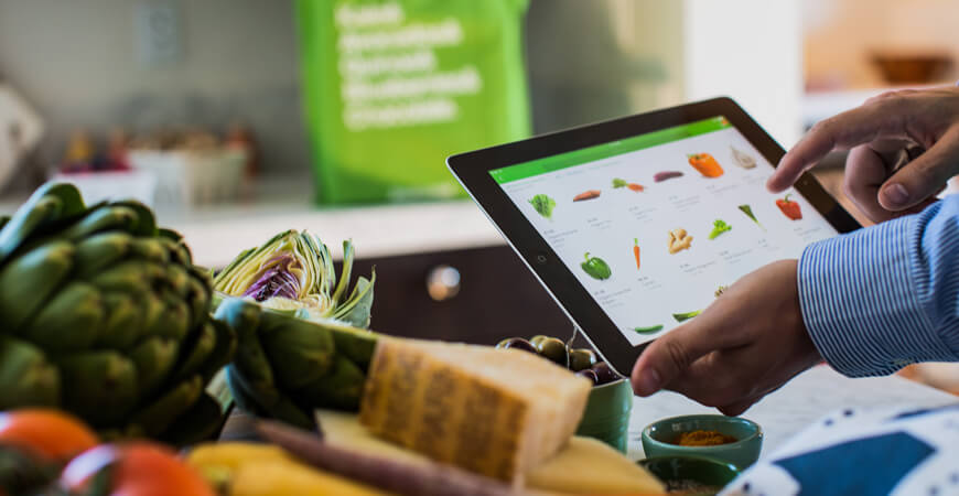 Instacart Features Admin Panel