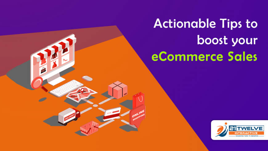 Actionable Tips to boost your eCommerce Sales