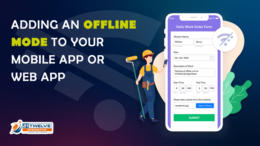 Adding an Offline Mode to your Mobile App or Web App