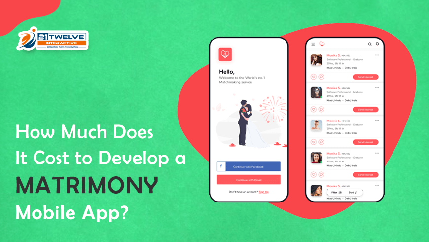 How Much Does It Cost to Develop a Matrimony Mobile App?
