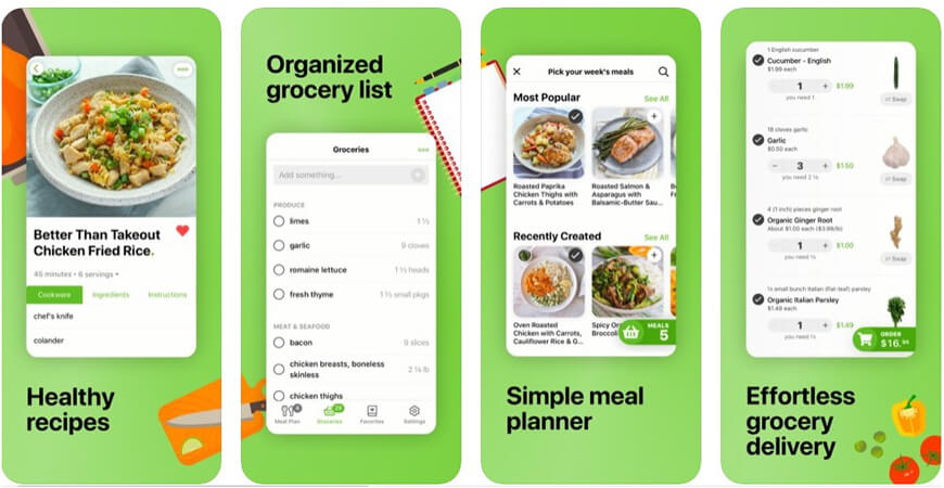 Mealime Meal Plans App