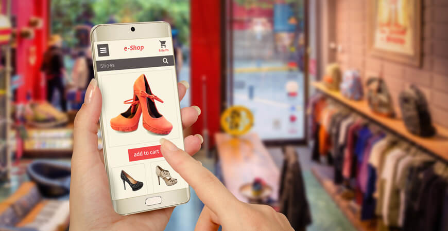 online shopping from mobile