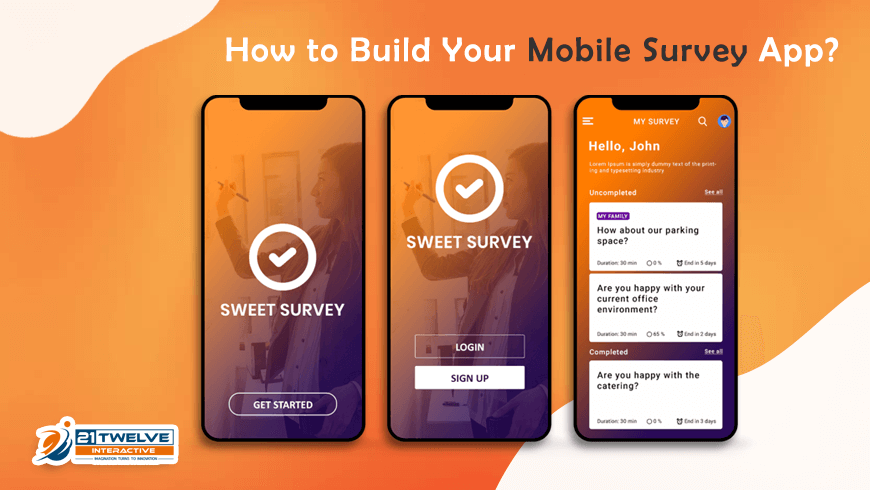 How To Build Your Mobile Survey App?