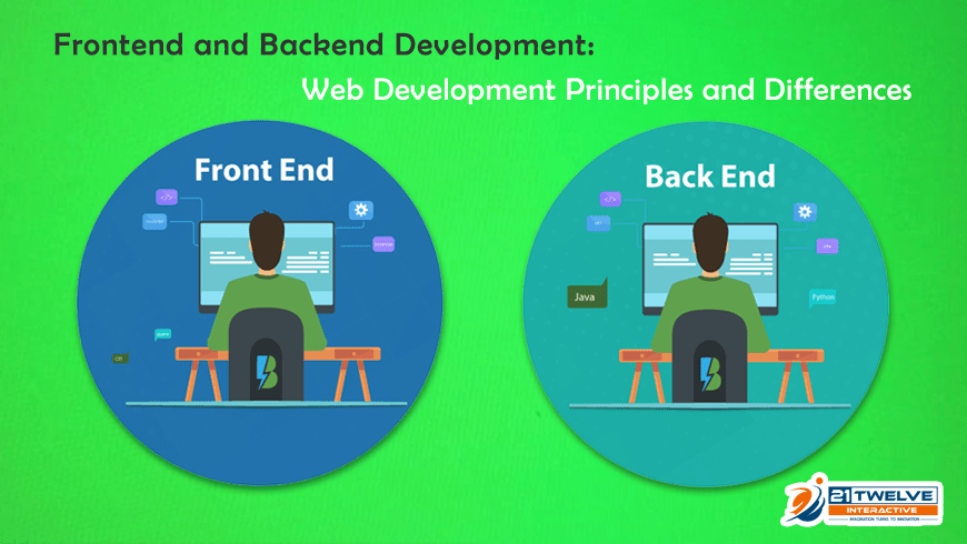 Frontend and Backend Development: Web Development Principles and Differences