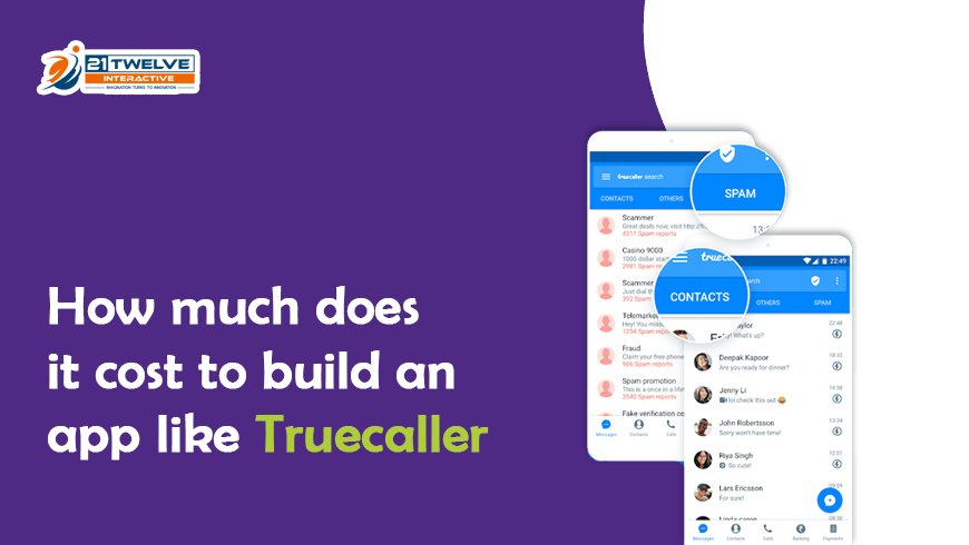How much does it  cost to build an app like Truecaller