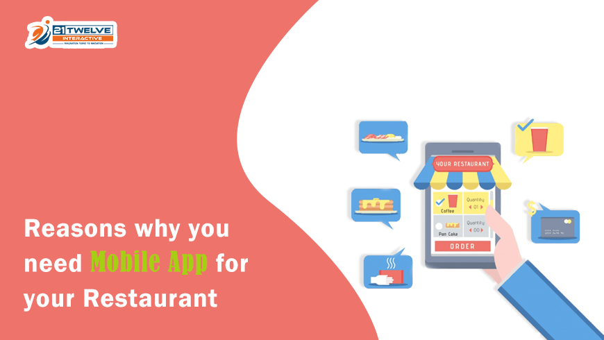 Reasons Why You Need Mobile App for Your Restaurant