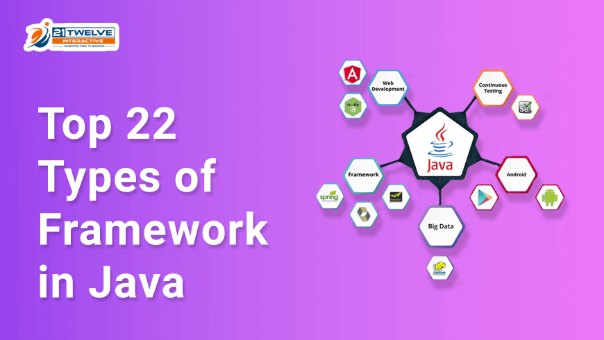 Top 22 Types of Framework in Java to Use