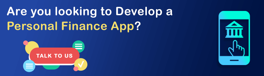 how to develop personal finance app